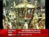Sir Edmund Hillary Dies