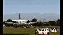 Microsoft Flight Simulator X- Northwest A330 Landing Portland, Oregon