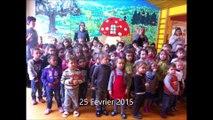Ecole en choeur - Académie de Nancy-Metz  - Ecole maternelle de Pouxeux
