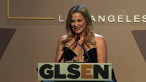 Jessica Capshaw Introduces Co-Chairs   2014 GLSEN Respect Awards - Los Angeles