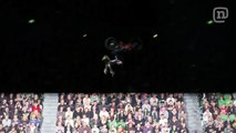 BMX Biker Andy Buckworth Does No-Handed Double Front Flip At Nitro Citrus Live