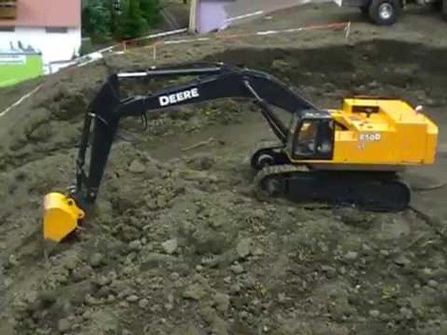 RC Construction Vehicle, RC Building site; RC Tonka; RC Crane, RC D11, Big RC Trucks 4 Kids