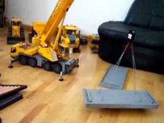 BIG RC CRANE 4 kg Betonplatte