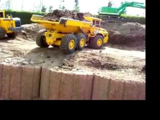 RC CONSTRUCTION SIDE, BIG RC ROADWORKER, RC TIPPER AND DUMPER ,MUST SEE