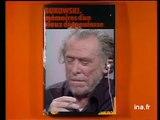 Charles Bukowski in french tv ( Bernard Pivot / apostrophes ) - 1978