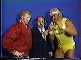 1-14-84 Hogan and Backlund vs. Chung Lee and Fuji