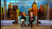 """The View"" Israel President Shimon Peres & Barbara Walters (02/29/2012)"