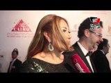 خالد أبو النجا وليلى علوي في افتتاح مهرجان القاهرة السينمائي
