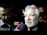 سامح الصريطى فى عزاء سعيد صالح: سعيد كان قريبا من ربه قبل وفاته