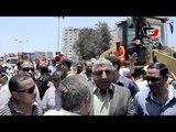 مدير أمن بورسعيد يقود حملة أمنية لإزالة الإشغالات والتعديات