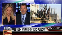 George W. Bush in 2007 warning about the consequences of pulling out of Iraq too early