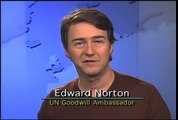 """""""Edward Norton speaks out for forests. International Year of Forests (Forests 2011)"""