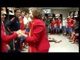 Carles Puyol meets the Queen