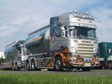 Scania R 580 V8 Aces High The Bomber Kuljetus Auvinen Finland