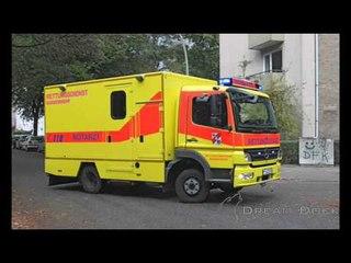 Feuerwehr Hamburg Bundeswehr Notarzt Atego ambulance german forces EMS