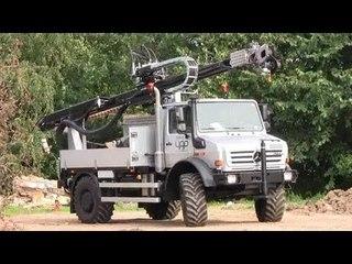 Unimog U5000 With DrillingRig