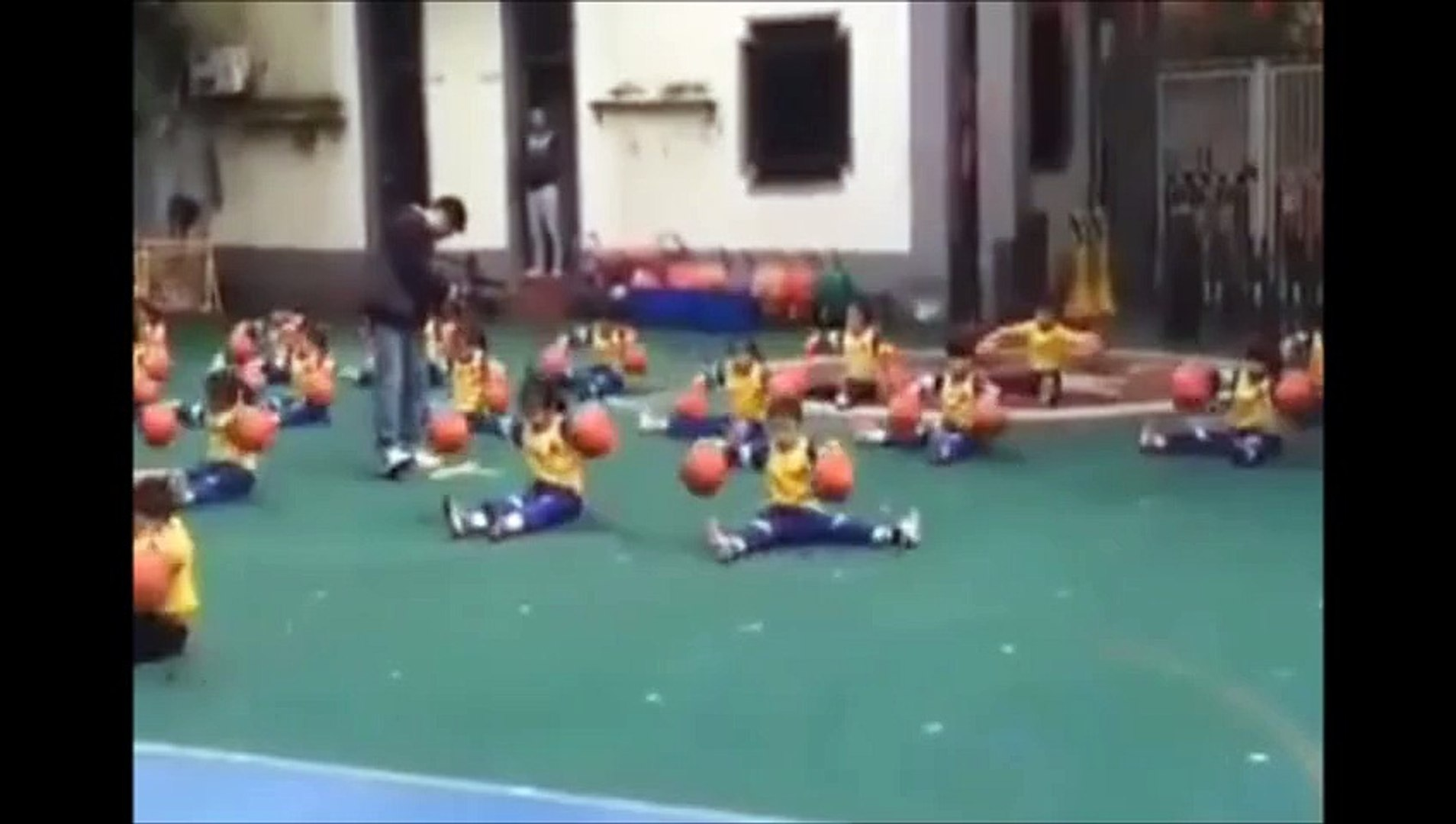Awesome Kid Play The Ball
