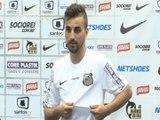 Longuine é apresentado e faz coro para Robinho ficar no Santos