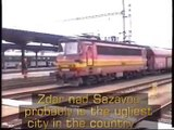 Czech locomotive Laminatka 240 ČD Česke drahy czech freight trains vlaky vlak rychlíku