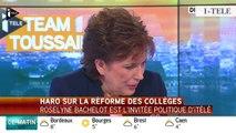 """TextO' : Najat Vallaud-Belkacem : """"Je soutiendrai cette réforme du collège et je la porterai et je l'assumerai de toutes mes forces."""""""