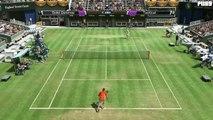 Virtua Tennis 4 Gameplay: Rafael Nadal Vs. Tommy Haas | England Tennis Classic