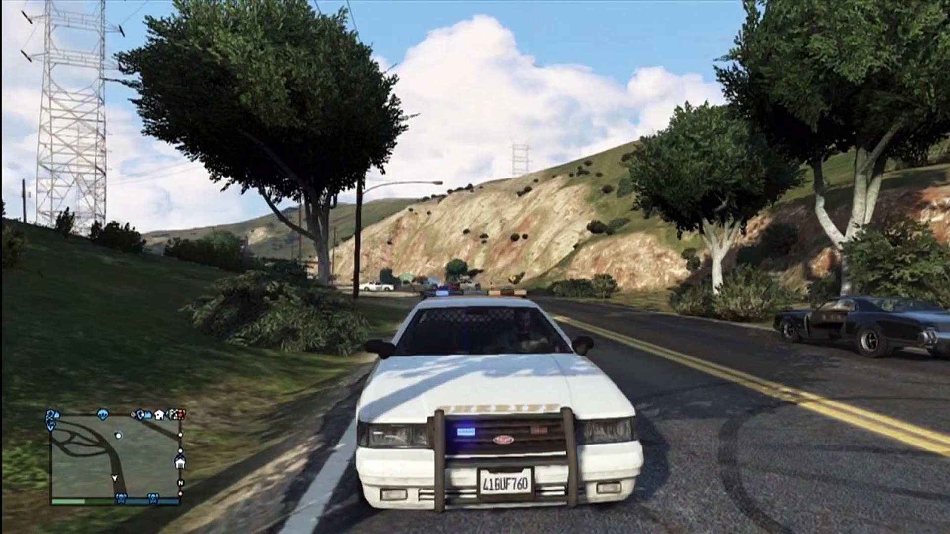 Grand Theft Auto 5 - Lights on ONLY no siren on emergency vehicles TUTORIAL  GTA V