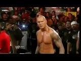 WWE Randy Orton destroys Sheamus