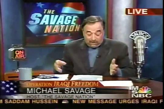 Michael Savage TV Show on Sars Outbreak