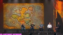 Map of DRAENOR Zones Explained Warlords of Draenor World of Warcraft - Blizzcon 2013