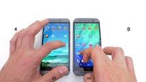 HTC ONE M9 vs HTC ONE M8 - Speed Test (Shocking Results)