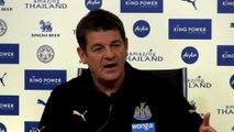 Trener Newcastle umiejętnie unika odpowiedzi na pytanie