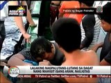Rescue, matapos ang higit na isang araw sa dagat
