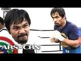 Pacquiao, gigil na gigil sa training matapos magpahinga