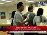 BIR to modernize tax collection via e-filing