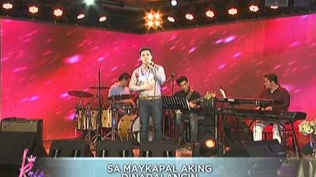 Erik Santos belts 'Ikaw Ang Lahat Sa Akin'