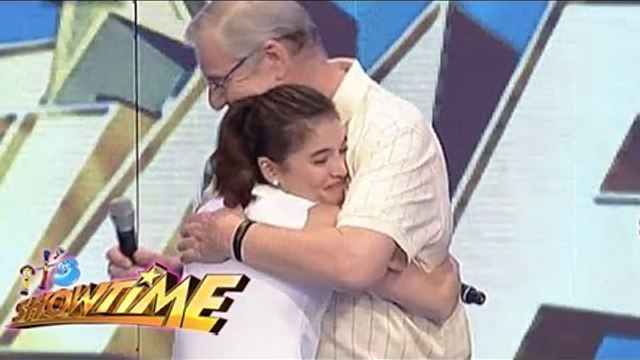 Daddy James' sweet birthday message for Anne