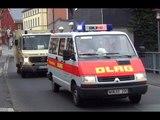 !!! 700 Video !!! LF 8 FF Unterweißenbach + BtKW BRK + MZF DLRG + GW BRK + LF 8/6 FF Erkersreuth