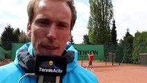 Tennis - ITF - Georgii Kravchenko futur grand espoir et au sein de l'Académie Justine Henin