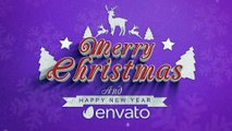 After Effects Project Files - Merry Christmas - VideoHive 9821959
