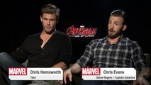 """Marvel's THE AVENGERS: Age of Ultron - Featurette """"Chris Hemsworth and Chris Evans"""" [HD]"""
