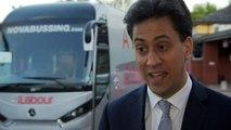 'I'm optimistic': Ed Miliband looks ahead to tomorrow's vote