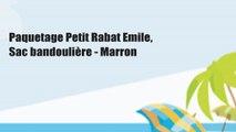 Paquetage Petit Rabat Emile, Sac bandoulière - Marron
