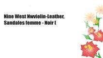Nine West Nwviolin-Leather, Sandales femme - Noir (