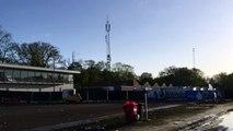 De drafbaan in het Stadspark maakt zich klaar voor huldiging FC Groningen - RTV Noord