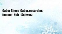 Gabor Shoes  Gabor, escarpins femme - Noir - Schwarz