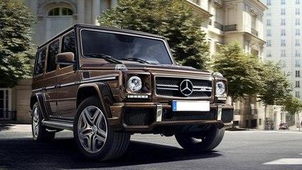 Mercedes-Benz G-Class Facelift Unveiled