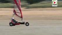 Penthievre-plage:  Kitesurf et Char à voile - TV Quiberon 24/7