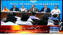 PMLN Leaders Press Conference - Thrashes Imran Khan on Rigging Allegations