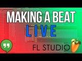 Making a beat LIVE 2 - Test - LIMIT BEATS - southside type beat