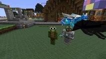 Minecraft - HOW TO TRAIN YOUR DRAGON - T-Shirt Speed Art! -LittleLizardGaming - Minecraft Mods!